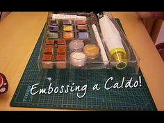 In questo video vi mostro come funziona l tecnica dell'embossing a caldo con il kit da embosser della Lidl!
