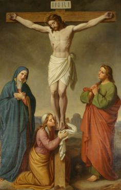 Estación 12: Jesús muere en la cruz