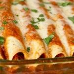 FODMAP Free Chicken Enchiladas http://fodmapliving.com/sample-page/entrees-and-main-dishes/fodmap-free-chicken-enchiladas/