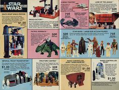 1979 Kenner Toys TV Guide Insert Star Wars Page