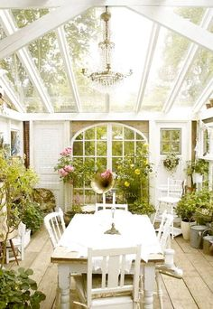 MY DREAM SUNROOM classic shabby chic sunrooms