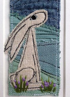 Discover recipes, home ideas, style inspiration and other ideas to try. Free Motion Embroidery, Free Machine Embroidery, Embroidery Art, Embroidery Designs, Sewing Art, Sewing Crafts, Landscape Fabric, Landscape Art, Quilt Stitching