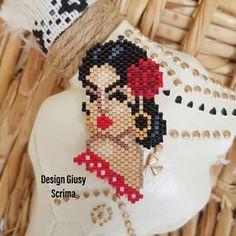Jewelry Patterns, Beading Patterns, Peyote Stitch, Brick Stitch, Hama Beads, Beaded Earrings, Jewelry Crafts, Collars, Origami