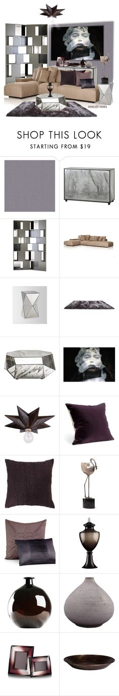 """""""Smoke & Mirrors"""" by merlothues ❤ liked on Polyvore featuring interior, interiors, interior design, home, home decor, interior decorating, WALL, Driade, West Elm and Gold Sparrow"""