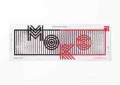 Dark Side of Typography Saatchi & Saatchi, Maori Designs, Design Art, Graphic Design, Maori Art, Dance Company, Dance Studio, Corporate Design, Identity Design