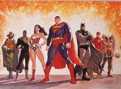 Justice League. by Jackson Herbert