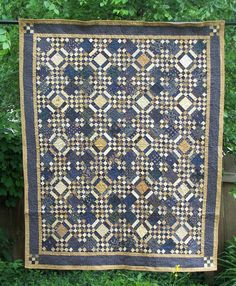 Blue Moon Of Kentucky Quilt Pattern PDF by SewUniqueCreations, $9.00