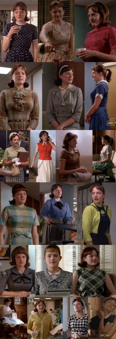 Out of all the women in Mad Men. I would want to be like Peggy...