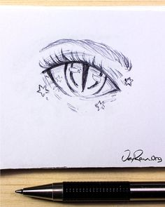 Eye Drawing Design & Decoration Workbook (Printable PDF) Learn how to draw the beautiful female anime eyes using this step by step process made for beginners (on the site) . Easy Pencil Drawings, Cool Art Drawings, Art Drawings Sketches, Drawings Of Eyes, Easy Drawings For Kids, Beautiful Drawings, Beautiful Eyes, Female Anime Eyes, How To Draw Anime Eyes
