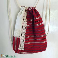 Retro szőttes hátizsák (KofferButik) - Meska.hu