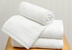 Luxury hand towels.