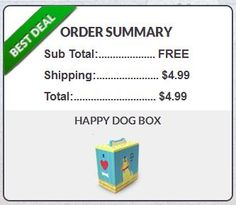 Get $42 worth of dog treats and toys for just $4.99 shipped!!