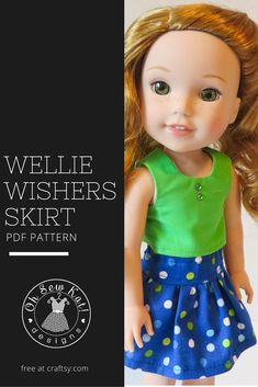 Wellie Wishers FREE sewing pattern by Oh Sew Kat! Easy to sew- fits Hearts for…