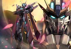 Gundam Kagerow by zeckover