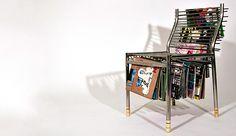 Silla revistero #mueble_multifuncional #multifunctional_furniture