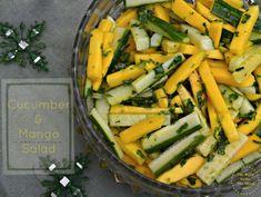 cucumber and mango salad