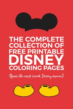 disney crafts Need a quick activity for the kids? Check out this massive collection of free Disney coloring pages. Your kids will love spending time coloring their favorite Disney colori Disney Coloring Sheets, Free Disney Coloring Pages, Adult Coloring Pages, Coloring Pages For Kids, Coloring Books, Disney Coloring Pages Printables, Kids Coloring, Mickey Coloring Pages, Free Coloring