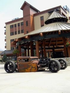 Rat Rod... but i'm not in love with the modern wheels
