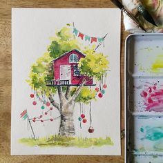 You may join the tree house party by dropping the appropriate tribute (e.g. cookies, kittens, beer, 80s playlist) in the basket. …