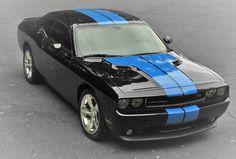 Midnight Blue 2013 Dodge Challenger