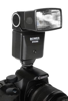 Introducing Bower SFD290 Digital Universal Automatic Flash for Canon Minolta Nikon Olympus Pentax and Samsung. Great Product and follow us to get more updates!