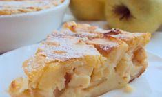 Budincă cu brânză de vaci și mere, la cuptor - un gust deosebit, la fel precum cel din copilărie! - Bucatarul Russian Dishes, Russian Recipes, Apple Recipes, Baking Recipes, Borscht Soup, Apple Cheesecake, Winter Food, Winter Meals, Pie