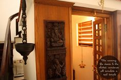 artnlight: Tradition Recreated in a home in Palakkad. Gypsy Home Decor, Ethnic Home Decor, Indian Home Decor, Indian Home Design, Pooja Room Design, Indian Interiors, Kerala Houses, Meditation Rooms, Puja Room