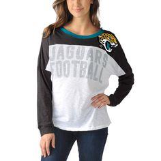 NFL Jacksonville Jaguars Women's Ralph Long Sleeve T-Shirt - Black
