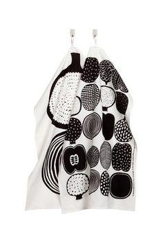 Kompotti tea towel set by Marimekko @ Mmekko in Cambrdge