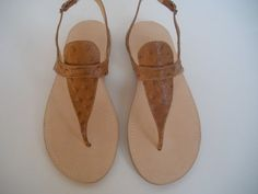 HANDMADE LEATHER SANDALS by tuto on Etsy, $88.00