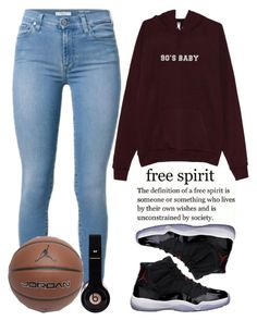 """""""December 29th, 2015 (simple)"""" by inescanas ❤ liked on Polyvore featuring мода, Freaker и Jordan Brand"""