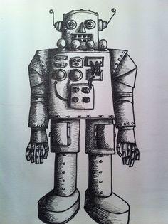 'Robot' by Eva Poppink