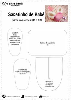 1 million+ Stunning Free Images to Use Anywhere Doll Shoe Patterns, Barbie Patterns, Baby Slippers, Felted Slippers, Baby Doll Shoes, Baby Dolls, Sewing For Kids, Baby Sewing, Felt Shoes