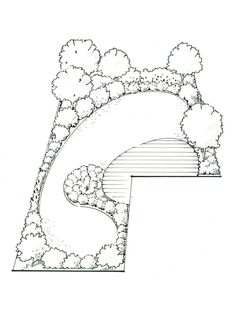 Ideas for an L-Shaped Garden Is an L-shaped garden tricky to deal with Yes. Are there stylish landscaping solutions Definitely!Is an L-shaped garden tricky to deal with Yes. Are there stylish landscaping solutions Definitely! Lawn And Landscape, Landscape Plans, Garden Landscape Design, Landscape Designs, Large Backyard Landscaping, Backyard Layout, Backyard Ideas, Landscape Solutions, Landscaping Supplies