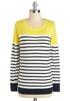 HAVE TO HAVE THIS SWEATER!!!!! Rocking on Sunshine Sweater, #ModCloth