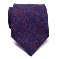 Atkinsons Ancient Madder Necktie - Paisley (Grn2) 805-35