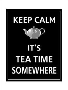 Tea Time by simone