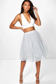 Skirts are the statement separate in every wardrobe   This season it's all about having fun with your hemline. Mix it up in minis, midis and maxis or go matchy-matchy and co-ordinate with a crop top. Push the boundaries in pleated pastels and fondant shade full circle styles, updating with a holographic clutch for a cool colour clash. Flirt with the skirt for your favourite every day and evening ensembles.
