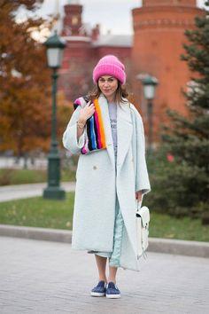 Уличная мода осень 2014 в Москве