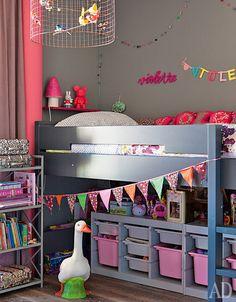 Как оформить детскую комнату: фото интерьеров с оригинальным дизайном | Admagazine | AD Magazine