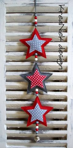 KreaNiek Design: Sterren Slingers XMAS decor / Xmas tree / ornaments / Christmas / styling The best Christmas decoration