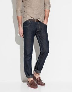 Zara, LINEN JEANS. Love the color!