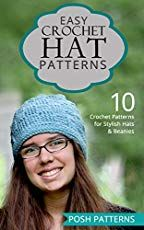 Easy Crochet Hat Patterns: 10 Crochet Patterns for Stylish Hats and Beanies Easy Crochet Hat Patterns, Crochet Hat Sizing, Crochet Beanie Pattern, Crochet Mittens, Crochet Stitches, Free Crochet, Knitted Hats, Crochet Hats, Crochet Sweaters