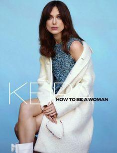 Keira Knightley pour le ELLE UK :