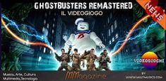 Ghostbusters Remastered - nuova vita al videogioco Ghostbusters - MMagazine Software House, Ghostbusters, Xbox One, Nintendo, Film, Movies, Movie Posters, Movie, Films