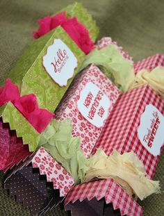 Valentine Boxes Tutorial