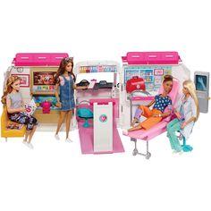 Barbie Care Clinic Vehicle Playset - Barbie Care Clinic Ambulance And Hospital Playset Mattel Barbie, Barbie And Ken, Barbie Dolls, Doll Clothes Barbie, Barbie Doll House, Barbie Mobile, Barbie Kitchen Set, Kitchen Sets, Barbie Website