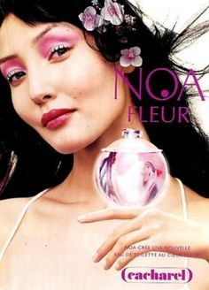 Noa Fleur Cacharel perfume - a fragrance for women 2003 - discontinued, I believe. One of my favorite clean florals.. a bit sparkly, not too sweet... a long-lasting rich drydown. Really, perfect.