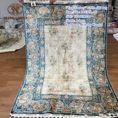 Handmade Silk Carpets & Rugs from Yilong Carpet factory.#art #largearearug #turkishdesignrug #silkorientalpersianrug #kashmirsilkhandmaderug #silkorientalrug #chineserug #handknottedsilkrug #handknottedchineserug #handknottedhomerug #orientalpersiansilkrug #handmaderug