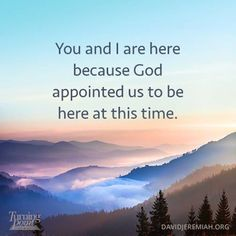 We are definitely here by divine appointment. <3